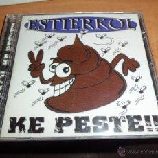 CDs de Música: ESTIERKOL - KE PESTE CONTIENE FOLLETO MERCHANDISING DIFICIL PUNK(SINDROME DE ABSTINENCIA). Lote 49578371