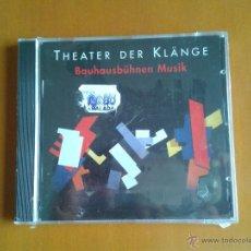 CDs de Música: CD NUEVO NO PRECINTADO TEATRO THEATER DER KLÄNGE BAUHAUSBÜHNEN MUSIK HANNO SPELSBERG JÖRG LENSING. Lote 49580575