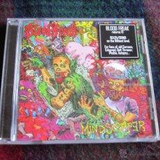 CDs de Música: BLOOD FREAK - MINDSCRAPER CD NUEVO Y PRECINTADO - DEATH METAL GRINDCORE. Lote 49591630