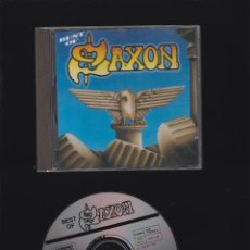 CDs de Música: THE BEST OF SAXON / CD. Lote 49600338