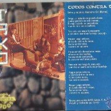 CDs de Música: TAKO CD SINGLE TODOS CONTRA TODOS 1993. Lote 49603427