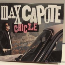 CDs de Música: MAX CAPOTE. CHICLE. DIGIPACK-CD / OJO RECORDS - 2010. 10 TEMAS. CALIDAD LUJO.. Lote 49622670