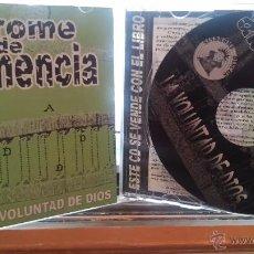 CDs de Música: SÍNDROME DE ABSTINENCIA - LA VOLUNTAD DE DIOS + FANZINE (LA IGLESIA, SUS TORTURAS)_2002. Lote 49632122