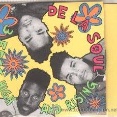 CDs de Música: DE LA SOUL 2 CD 3 FEET HIGH AND RISING 24 CANCIONES EDICION ESPECIAL ANIVERSARIO CON CD CON EXTRAS. Lote 49659613