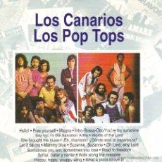 CDs de Música: LOS CANARIOS / LOS POP TOPS- GRANDES EXITOS DE AMBOS GRUPOS, CD ALBUM RARO 1993. Lote 49683987