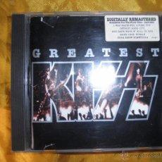 CDs de Música: KISS. GREATEST. CD. MERCURY RECORDS 1996. Lote 49690857