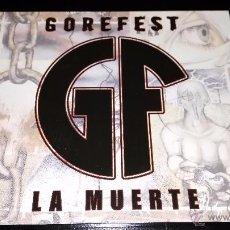 CDs de Música: GOREFEST - LA MUERTE. Lote 49715694