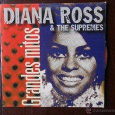 CDs de Música: CD GRANDES MITOS - DIANA ROSS & THE SUPREMES (2A). Lote 49728799