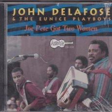 CDs de Música: JOHN DELAFOSE & THE EUNICE PLAYBOYS - JOE PETE GOT TWO WOMEN - PRECINTADO. Lote 49733230
