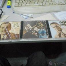 CDs de Música: LOTE VOLUMEN 1,2,3 GLENN MILLER 1991. Lote 49738262