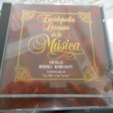 CDs de Música: LOTE 25 CD ENCICLOPEDIA LAROUSSE DE LA MUSICA. Lote 49738691