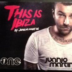 CDs de Música: JUANJO MARTIN THIS IS IBIZA. DOBLE CD PRECINTADO. Lote 49739630