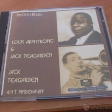 CDs de Música: THE LOUIS ARMSTRONG & JACK TEAGARDEN 2 CD 37 TRACKS (CD22). Lote 49740739