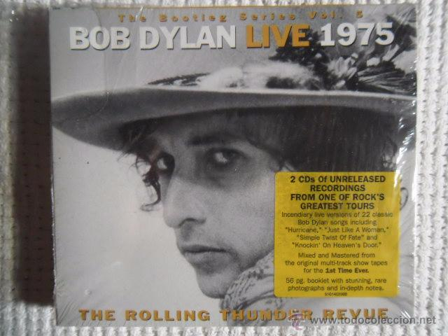 BOB DYLAN - '' LIVE 1975 ( THE ROLLING THUNDER REVUE ) '' 2 CD EU SEALED (Música - CD's Country y Folk)