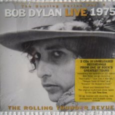 CDs de Música: BOB DYLAN - '' LIVE 1975 ( THE ROLLING THUNDER REVUE ) '' 2 CD EU SEALED. Lote 49742554