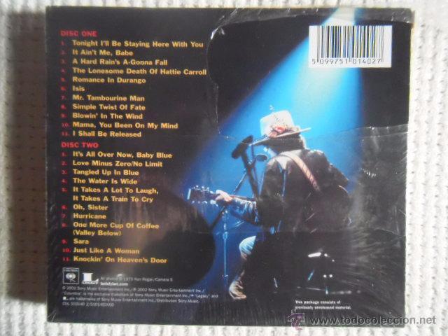 CDs de Música: BOB DYLAN - LIVE 1975 ( THE ROLLING THUNDER REVUE ) 2 CD EU SEALED - Foto 2 - 49742554