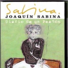CDs de Música: JOAQUÍN SABINA - DIARIO DE UN PEATÓN - ESTUCHE CON 2 CDS. Lote 49748096
