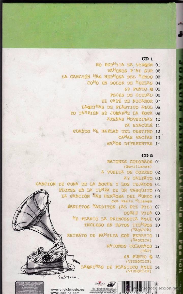 CDs de Música: Joaquín Sabina - Diario de un peatón - Estuche con 2 CDs - Foto 2 - 49748096
