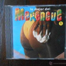 CDs de Música: CD LO MEJOR DEL MERENGUE 1 (2W). Lote 96125411