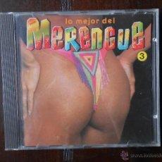CDs de Música: CD LO MEJOR DEL MERENGUE 3 (2W). Lote 96125395