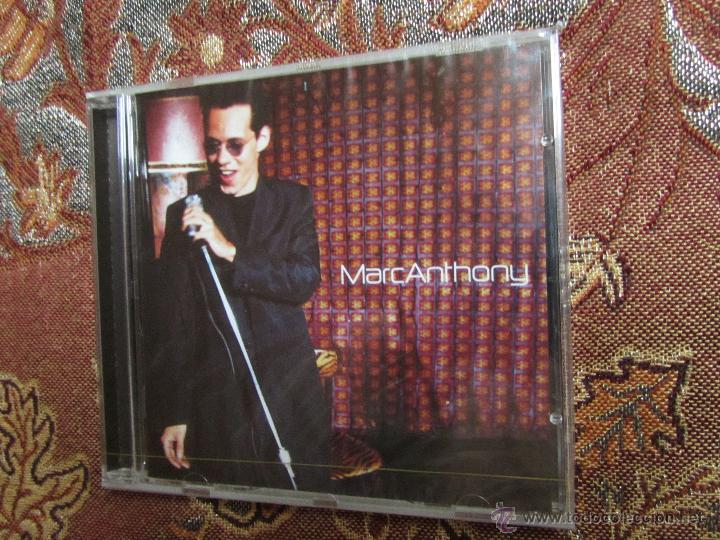 MARC ANTHONY- CD - TITULO MARC ANTONY- 16 TEMAS- ORIGINAL DEL 99- CD PLASTIFICADO DE FCA. (Música - CD's Latina)