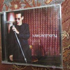 CDs de Música: MARC ANTHONY- CD - TITULO MARC ANTONY- 16 TEMAS- ORIGINAL DEL 99- CD PLASTIFICADO DE FCA.. Lote 49757847