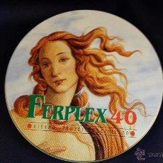 CDs de Música: CAJA METÁLICA FERPLEX 40 CON CD. Lote 49761171