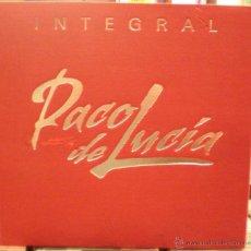 CDs de Música: PACO DE LUCÍA - INTEGRAL + CD COSITAS BUENAS. Lote 62579660