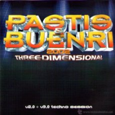 CDs de Música: DOBLE CD ÁLBUM: PASTIS & BUENRI 2002 - THREE DIMENSIONAL - TEMPO MUSIC 2002. Lote 49782868