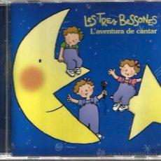 CDs de Música: CD LES TRES BESSONES : L´AVENTURA DE CANTAR . Lote 49791711