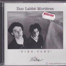 CDs de Música: DUO LABBÉ MORIÈRES - PING PONG - PRECINTADO. Lote 49843309