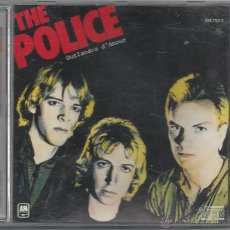 CDs de Música: THE POLICE - OUTLANDOS DÁMOUR. Lote 49844229