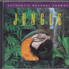 CDs de Música: JUNGLE - RELAX WITH NATURE - VOL 16 - AUTHENTIC NATURAL SOUNDS. Lote 144076800