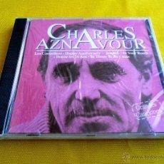 CDs de Música: CHARLES AZNAVOUR GRANDES CANCIONES - PRECINTADA. Lote 49884201