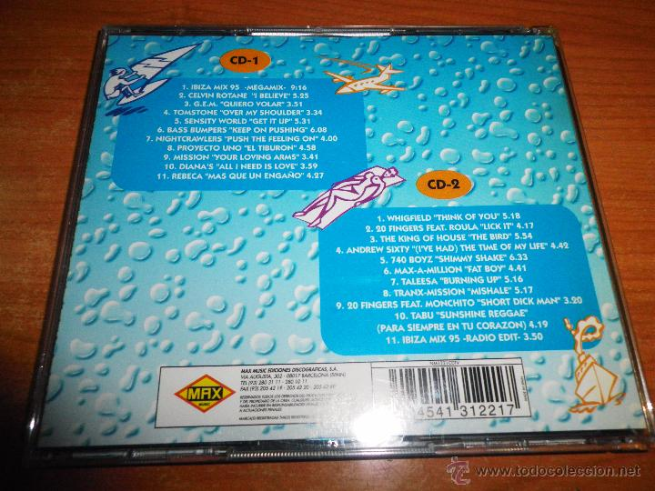 Ibiza mix 95 - 2 cd proyecto uno 740 boyz 20 fr - Sold through