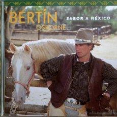 CDs de Música: BERTIN OSBORNE- SABOR A MEXICO- 10 TRACKS. Lote 49910710