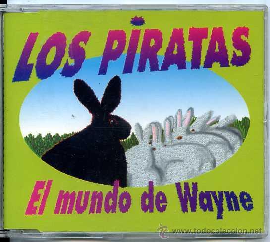 LOS PIRATAS / EL MUNDO DE WAYNE (CD SINGLE CAJA 1995) (Música - CD's Pop)