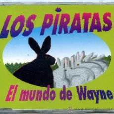 CDs de Música: LOS PIRATAS / EL MUNDO DE WAYNE (CD SINGLE CAJA 1995). Lote 49917891