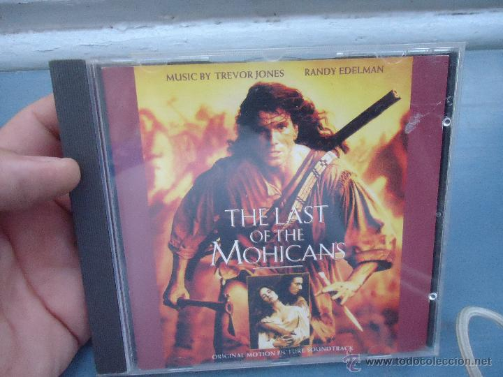 cd, the last ofo the mohicans, original motion picture soundtrack, 1992