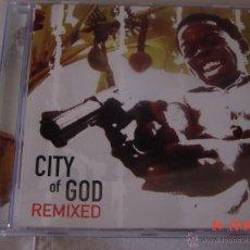 CDs de Música: CITY O GOD. REMIXED. CD EDICION EXTRANJERA. Lote 49938252