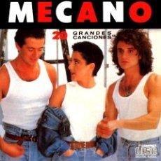 CDs de Música: MECANO 20 GRANDES CANCIONES - RARO CD Y MUY BUSCADO. Lote 53525636