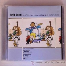 CDs de Música: DAVID BENOIT - HERE'S TO YOU, CHARLIE BROWN: 50 GREAT YEARS! (CD) MICHAEL BRECKER - TAKE 6. Lote 49984577