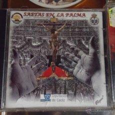 CDs de Música: CD SEMANA SANTA - CADIZ SAETAS EN LA PALMA. Lote 49992131