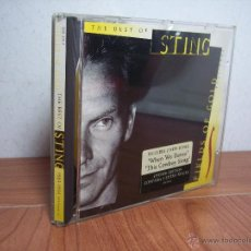 CDs de Música: THE BEST OF STING (1984-1994). Lote 49999479