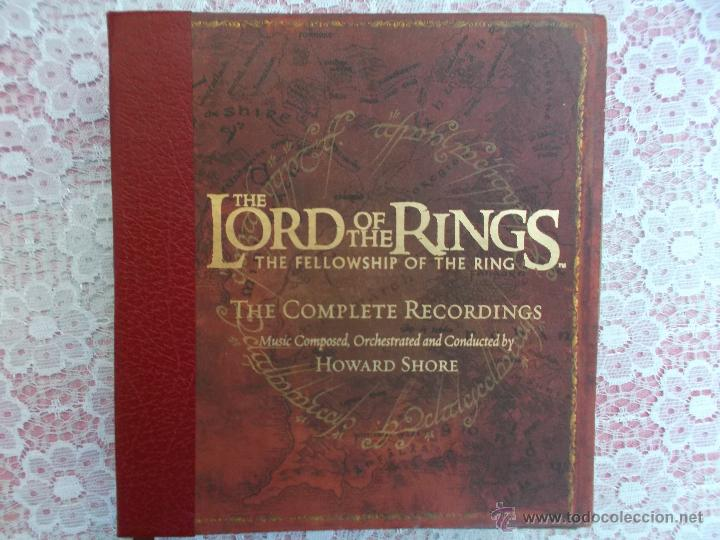 HOWARD SHORE ‎– THE LORD OF THE RINGS: THE FELLOWSHIP OF THE RING - THE COMPLETE RECORDINGS (Música - CD's Bandas Sonoras)