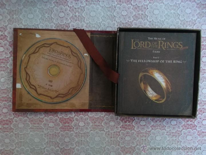 CDs de Música: Howard Shore ‎– The Lord Of The Rings: The Fellowship Of The Ring - The Complete Recordings - Foto 2 - 50018364