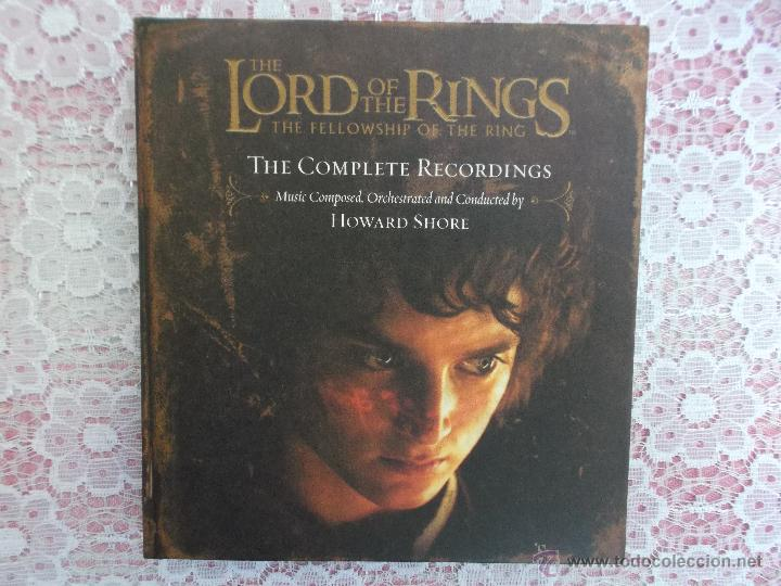 CDs de Música: Howard Shore ‎– The Lord Of The Rings: The Fellowship Of The Ring - The Complete Recordings - Foto 3 - 50018364