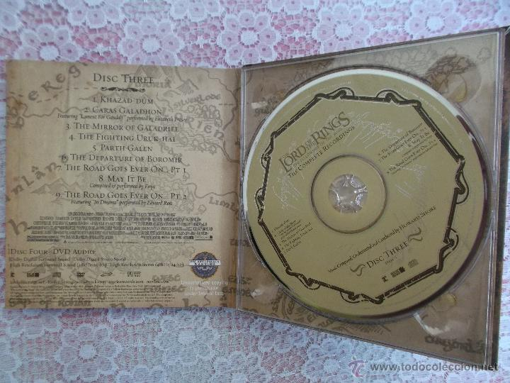 CDs de Música: Howard Shore ‎– The Lord Of The Rings: The Fellowship Of The Ring - The Complete Recordings - Foto 5 - 50018364