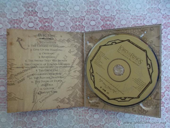CDs de Música: Howard Shore ‎– The Lord Of The Rings: The Fellowship Of The Ring - The Complete Recordings - Foto 6 - 50018364