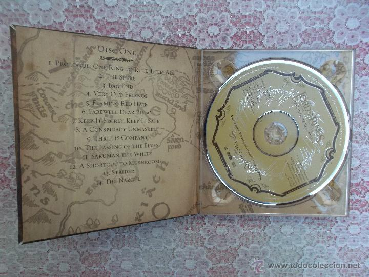 CDs de Música: Howard Shore ‎– The Lord Of The Rings: The Fellowship Of The Ring - The Complete Recordings - Foto 7 - 50018364